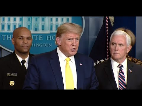 WATCH: Trump and White House coronavirus task force hold news conference - 3/9 (FULL LIVE STREAM)