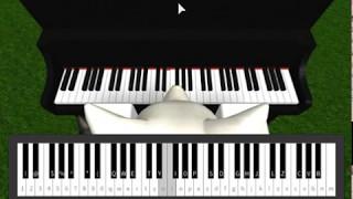 Cómo tocar Gravity Falls Tema - Roblox Piano