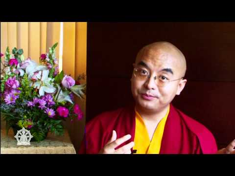 How to meditate (2 of 2) ~ Mingyur Rinpoche talks about the essence of meditation