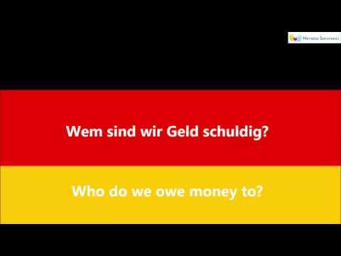 Learn German   Deutsch Lernen   Wem Sätze  