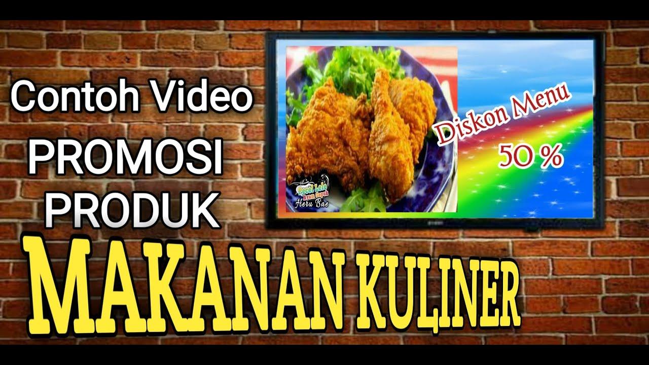 Contoh Video Promosi Produk Makanan Kuliner Ala Pecel Lele Heru Bae Youtube