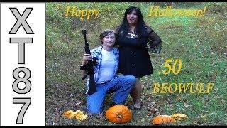 .50 Beowulf Pumpkin Carving