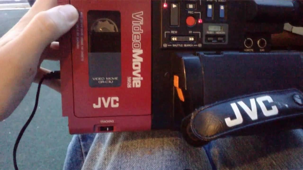 Neil U0026 39 S Jvc Gr-c1 Vhs-c Camcorder  1984