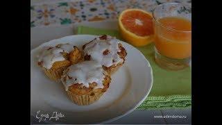 Юлия Высоцкая — Морковные кексы с апельсином и грецкими орехами