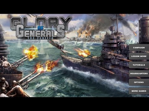Glory of Generals: Pacific War walkthrough - Typhoon of Steel