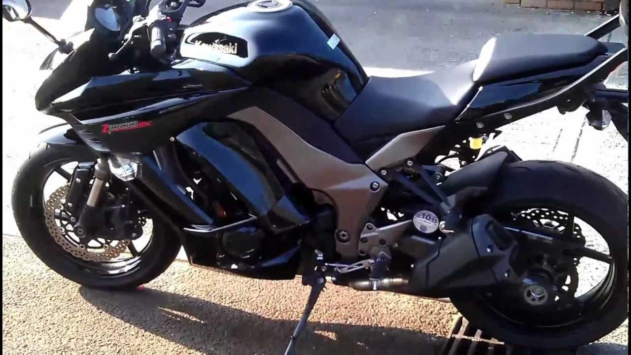 2011 Kawasaki Z1000SX - YouTube