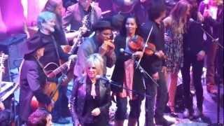 "JOHNNY CASH 80th Birthday Bash, Austin 4-20-12 ""I Walk The Line"""
