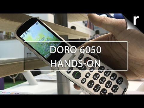 Doro 6050 Hands-on Review: Simple yet smart