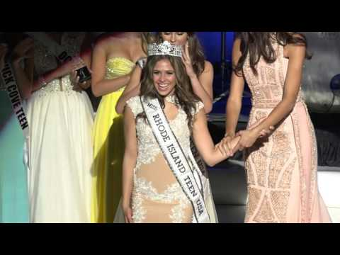 Crowning Moment   - Miss Rhode Island Teen USA 2016