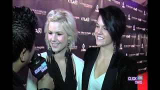 Kimberly Caldwall - Interview (with her sister) -LA Fashion Week