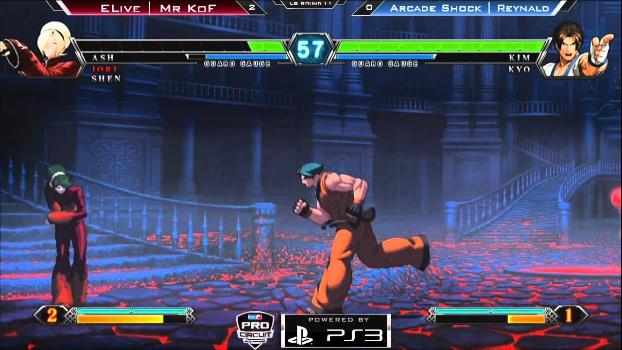 WR 6 B - Elive Mr KOF vs Arcade Shock - Game 3