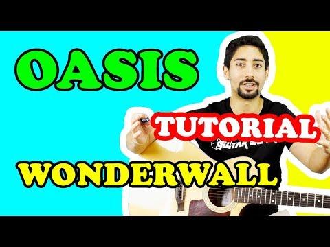🎸 LEZIONI DI CHITARRA PER PRINCIPIANTI: Wonderwall, Oasis (TUTORIAL CANZONI FACILI)