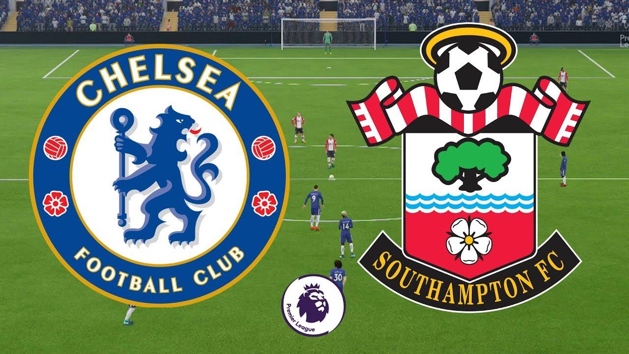 Premier League 2017/18 - Chelsea Vs Southampton - 16/12/17 - FIFA 18 -  YouTube