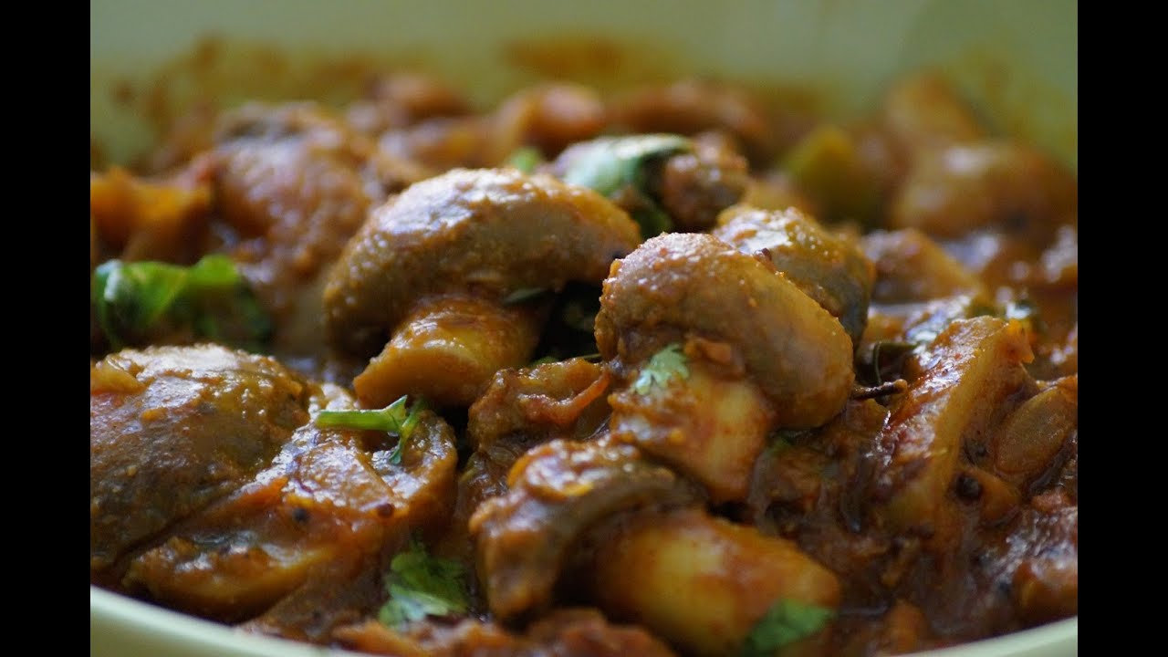 Mushroom curry in telugu youtube mushroom curry in telugu telugu world food recipe world forumfinder Gallery