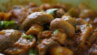 Mushroom curry in telugu