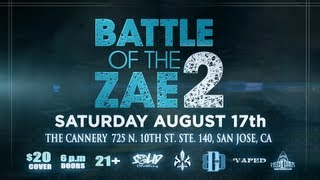 BOTZ2 - Battle of the Zae 2 - Official Video Flyer