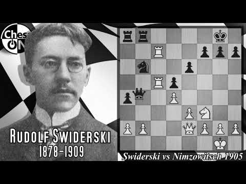 Best Chess Games Ever! Swiderski vs Nimzowitsch 1905