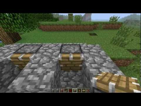 Minecraft - Let's Build - Easy-to-build Vertical Drilling Machine