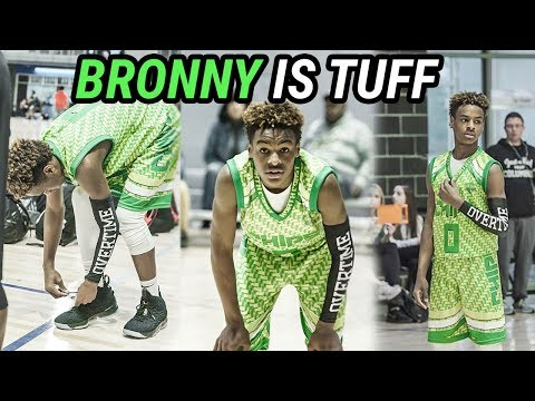 LeBron James Jr Is Already A SUPERSTAR! Official Bronny Tournament MIXTAPE 🔥