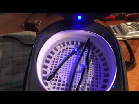 How to clean your glasses with an Ultrasonic cleaner spectacles cleaning DIY