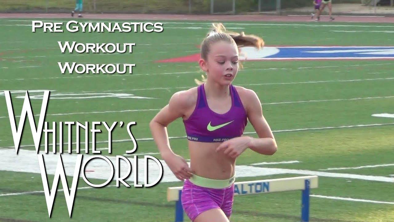 Pre Gymnastics Workout Workout | Whitney - YouTube