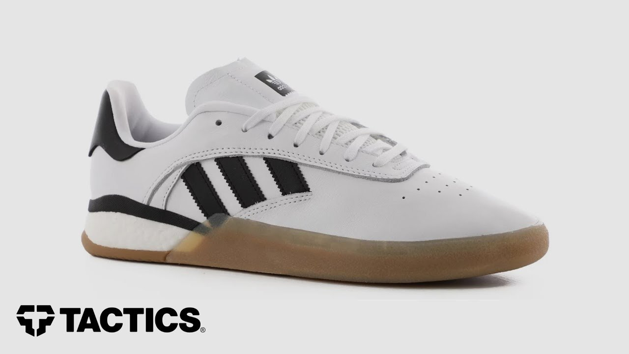 Resaltar Licuar Increíble  Adidas 3ST 004 Skate Shoes Review - Tactics - YouTube