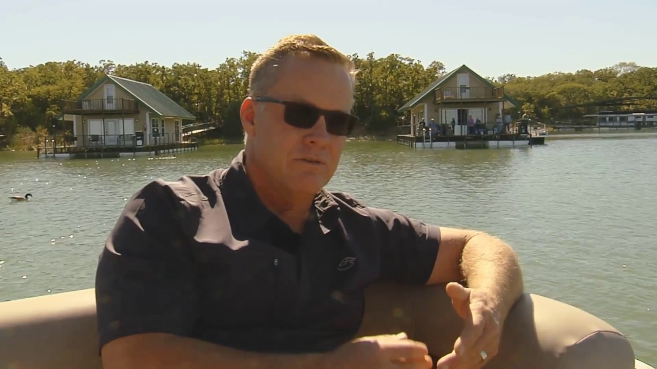 Lake Murray Floating Cabins Youtube