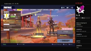 NIGHT STREIMI ENS FRIDAY 50H!! STRIIMI FORTNITE (ENGLISH) LIVE 13.500 V-Bucks Giveaway 500 subscriber