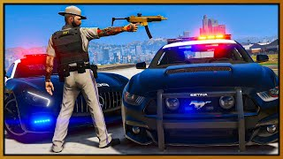 GTA 5 Roleplay - I BECOME HIGH SPEED COP UNIT | RedlineRP