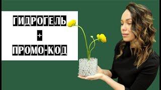 ГИДРОГЕЛЬ + ПРОМО-КОД // Школа флористики