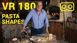 Pasta Shapes | VR180 | Gennaro Contaldo | Part 2 of 3