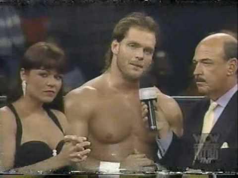 (3.17.1997) Road to Spring Stampede 1997 Part 9 - Chris Benoit w. Woman vs. Kidman