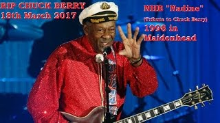 RIP CHUCK BERRY - MARCH 18TH 2017 'THE GREATEST TRIBUTE IS TO BE INSPIRED BY THEM'