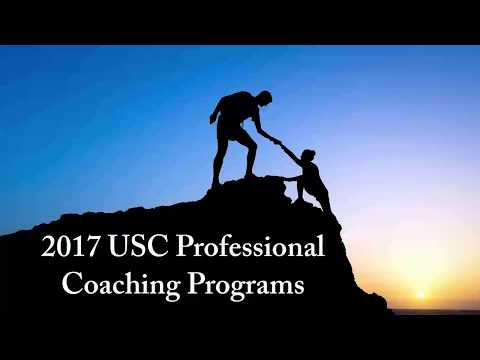 USC Professional Coaching Programs 2017