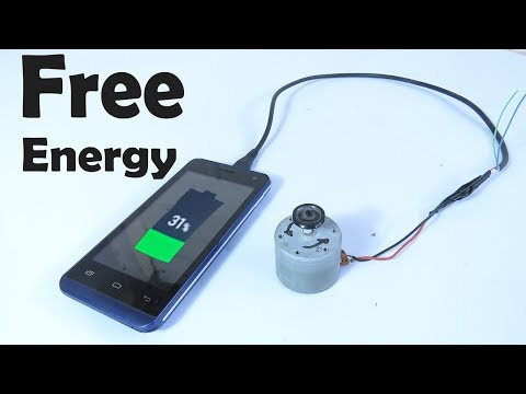 How To Make A Mobile Phone Charger - Free Energy and Free At Home - ENERGY FREE