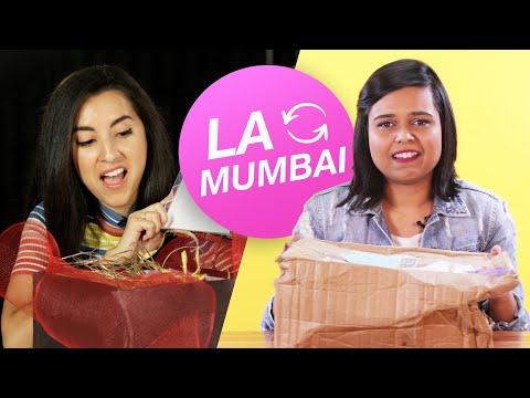 Women Swap Mystery Beauty Boxes • LA and Mumbai