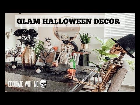 GLAM HALLOWEEN DECOR | HALLOWEEN HOUSE TOUR!