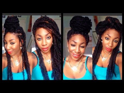 natural hair styles with marley hair hair 7 marley twists styles 8432 | hqdefault