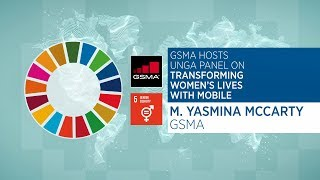 UNGA Panel: Yasmina McCarty