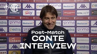 FIORENTINA 1-2 INTER | ANTONIO CONTE EXCLUSIVE INTERVIEW: