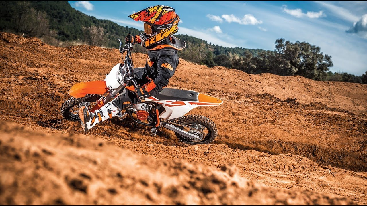 2017 ktm 50 sx for young mx riders youtube. Black Bedroom Furniture Sets. Home Design Ideas