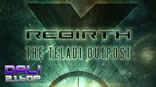 X Rebirth: The Teladi Outpost PC 4K Gameplay 2160p