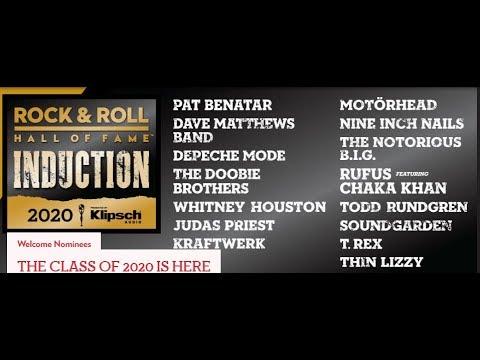 Judas Priest, Motorhead, Soundgarden, NIN nominated for 2020 R&R Hall of Fame..!