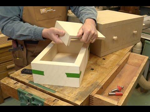 Assemblages onglet youtube - Comment couper des plinthes a 45 ...