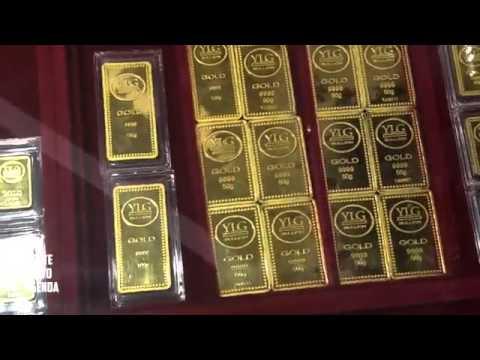 BANGKOK THAI GOLD INDUSTRY Amazing Amass of Gold Bars Jewelry