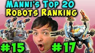 Manni S Top 20 BEST WAR ROBOTS RANKING 2019 Episode 1 WR Gameplay