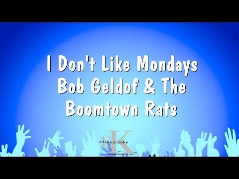 I Don't Like Mondays - Bob Geldof & The Boomtown Rats (Karaoke Version)