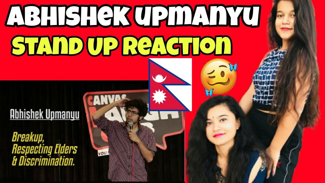 Breakup, Respecting Elders, & Discrimination | Stand-Up Comedy by Abhishek Upmanyu | Reaction