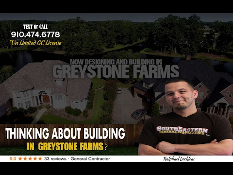 Greystone Farms Fayetteville NC – Custom Home Builder – Homes/Houses For Sale