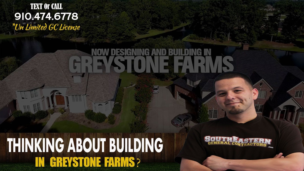 Greystone farms fayetteville nc custom home builder for Custom home builders fayetteville nc
